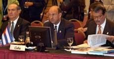 Carlos Lage en la XVI Cumbre Iberoamericana