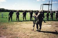 Grupos contrarrevolucionarios entrenándose en EE.UU.